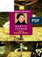The Cambridge Companion to Martin Luther - Donald McKim
