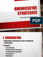 7 Communicative Strategies