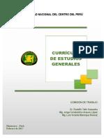 Estudios Generales Uncp 2017
