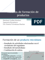 Modelos de Formación de Productos