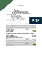 Advance Financial Assignment #2