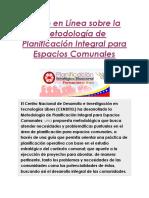 Planificación Comunal M01 L01-01