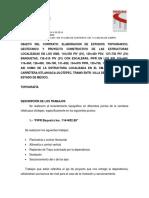 DESCRIPCION Y METODOLOGIA DE TRABAJO 114+660