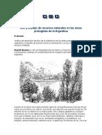 Burkart - Uso y Manejo de Recursos Naturales en Las Áreas Protegidas de La Argentina