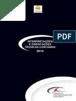 Livro ICPC - Interpretações e Orientações Técnicas Contábeis.