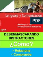 Clase 11 Desenmascarando distractores (LC-031) 2015 CES.ppt