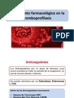 Tratamiento Farmacológico en La Tromboprofilaxis