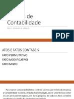 Noções de Contabilidade - PARTE II