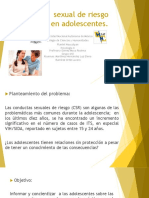 Conducta  sexual de riesgo en adolescentes.pptx