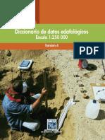 Diccionario de Datos Edafológicos. Escala 1250 000. Versión 4