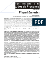 A vanguarda conservadora. Schechner.pdf
