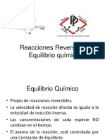 Equilibrio y Le Chatelier Q.E Ppvj