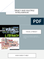 0913 My Literacy and Multiple Intelligences