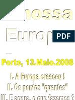 A Nossa Europa Carlos Coelho