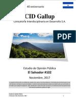 Estudio de Opinión Pública El Salvador #102 Noviembre, 2017 .pdf