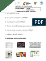 Cuestionario de Control Visual