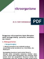 Peran Mikroorganisme