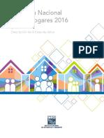 Encuesta Nacional de Los Hogares 2016. ENH. Descripción de La Base de Datos