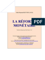 keynes_reforme_monetaire