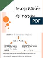 Interpretacion Del Derecho