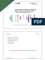 Nazarkiewicz Developing Intercultural Competence in Practice Hochschule Pforzheim 12.5.2014
