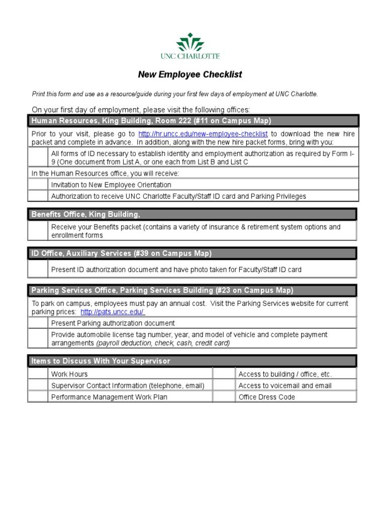 Customer Orientation Checklist agreement templates weekly report ...