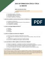 Guia de Estudio de Formacion Cívica y Ética 3er Bimestre quinto año primaria