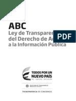 ABC Ley Transparencia