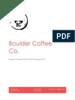 boulder purchase business plan