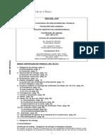 Certificado de Trabajo - Art 80 LCT - Actualización Dic. 2015