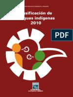 Clasificación de Lenguas Indígenas 2010