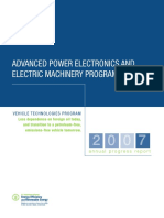 Advance in Power Electronics Electric Machinery