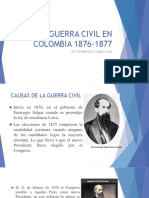 1. La Guerra Civil en Colombia 1876-1877