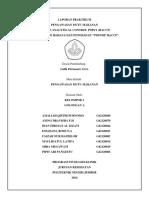 Laporan Praktikum 2 Identifikasi Bahaya Dan Penerapan 7 Prinsip HACCP