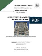 Ensayo de la  Arquitectura Moderna
