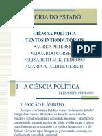 CIÊNCIA POLÍTICA TEXTOS INTRODUTÓRIOS