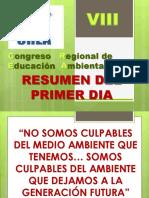Congreso Regional de Educación Ambiental