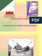 Semiología Oral II. Historia Clinica de emergencia- Unica
