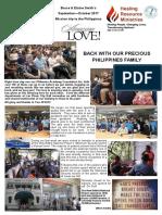 Newsletter September - October 2017