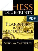 Chess Blueprints Planning in the Middlegame