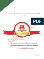 PhD Engineering Thesis Sample Work