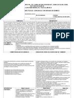 Planeacion Argumentada-sec129 Bi Ciencias Quimica 2017-2018