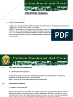 1.- ESTRUCTURA ORGANICA
