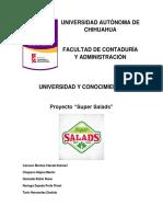 Proyecto Super Salads