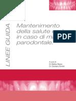 Linee Guida Parodontologia