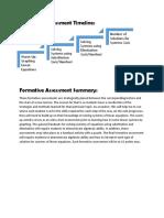 assessment timeline   summary