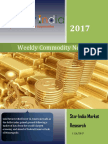 Weekly Commodity News Latter 06-11-2017