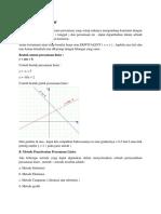 Persamaan Linear