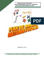 Plan Area Matematicas Gmdc 2013