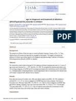 Influence of Relative Age on Diagnosis and Treatment of Attention-Deficit_hyperactivity Disorder in Children